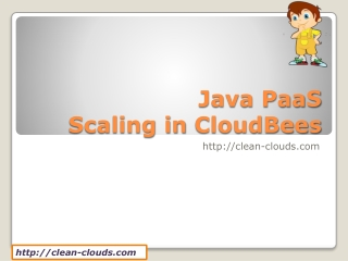 17. Scaling - CloudBees