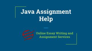 Java Assignment Help By EssayCorp Experts