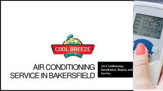 Air Conditioning Bakersfield - Cool Breeze Heating & Air
