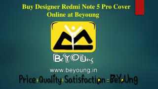 Shop Amazing Redmi Note 5 Pro mobile Cover Online at Beyoung
