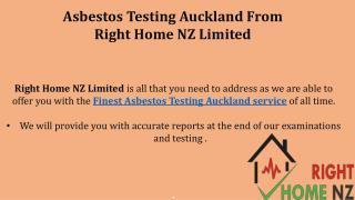 Finest Asbestos Testing Auckland service