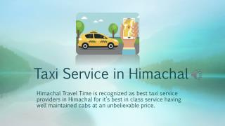 Taxi Service in Himachal | Himachal Travel Time