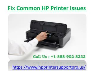 Fix Common HP Printer Issues