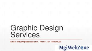 Graphic Design Services in Delhi, India