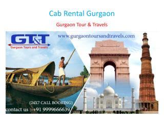 Cab Rental Gurgaon