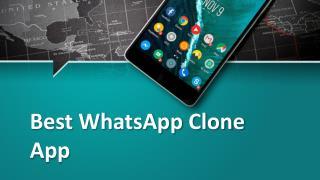 Best WhatsApp Clone App-Hiddy