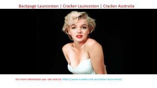 Backpage Launceston | Cracker Launceston | Cracker Australia