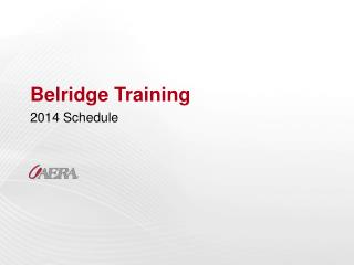 Belridge Training