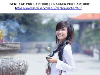 Backpage Port-Arthur | Cracker Port-arthur