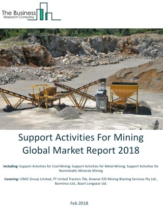 Support Activities For Mining