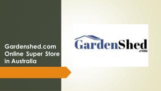 Garden Sheds, Timber Sheds, Easy Sheds   Gardenshed.com