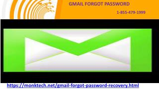 Fix authentication error with Gmail forgot password service 1-855-479-1999