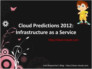 37.Cloud Predictions 2012 Infrastructure as a Service