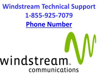 Windstream Technical Support 1-855-925-7079 Phone Number
