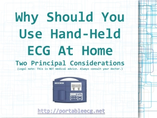 Two Fantastic Factors Why| Why Would You Use Mobile ECG At Y