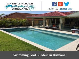 Swimming Pool Builders in Brisbane