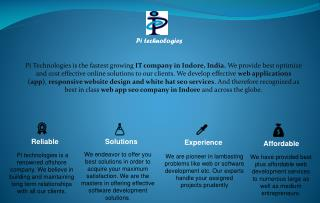 pi technologies indore ppt