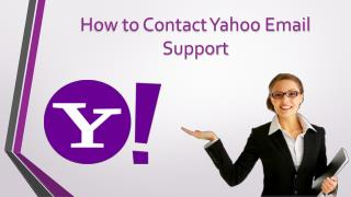 How to Contact Yahoo Email Support Phone Number