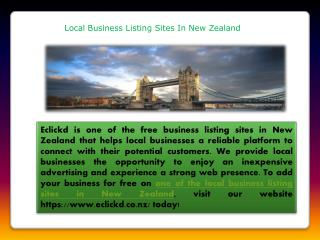 Local business listing sites in New Zealand