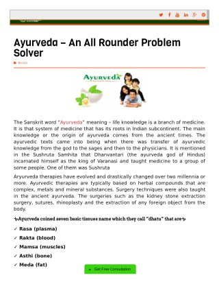 Best Ayurvedic Medicine