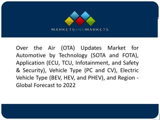 Passenger Cars Estimated to Lead the Automotive OTA Updates Market