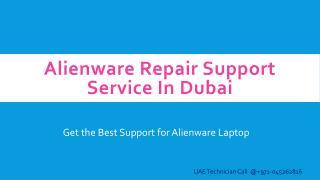 Alienware Repair Support Service In Dubai