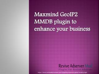 Maxmind GeoIp2 MMDB plugin