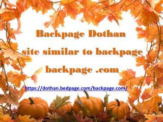 Backpage Dothan | sites like Backpage | Alternative to Backpage