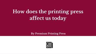 Printing press in UAE   Premium Printing Press