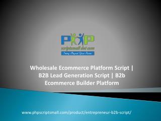 B2B Lead Generation Script   B2b Ecommerce Builder Platform