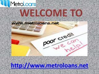 Secured loans