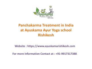 Panchakarma Treatment for Wellness in Health
