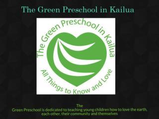 Kailua Preschools