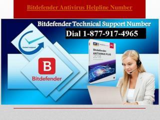 Contact Bitdefender Antivirus Helpline Number Canada 1-877-917-4965