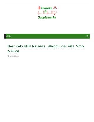 Best Keto BHB Active ingredients.