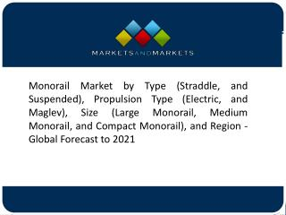 Urbanization is Driving the Growth of the Suspended Monorail Systems Market