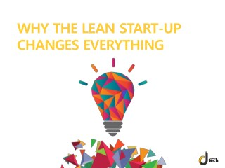 The Lean Startup | Methodology - Dtech Systems