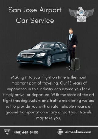 SJC Airport Car Service - Air One Limo