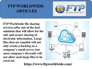 Ftpworldwide-Articles