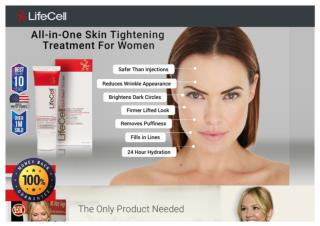 Lifecell Website - Free Anti-Aging Cream Promotional Offer
