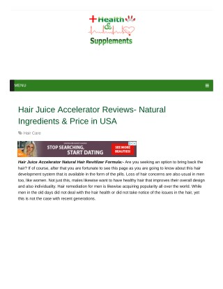 Will Hair Juice Accelerator Effective In Hair Growth?