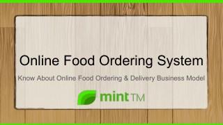Online food ordering system   Food Ordering Website   Food Ordering Software