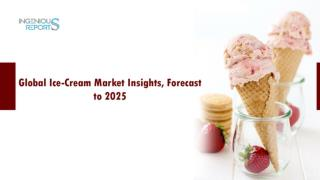 Ice-Cream Market Insights, Demand, Size, Growth & Forecast 2025