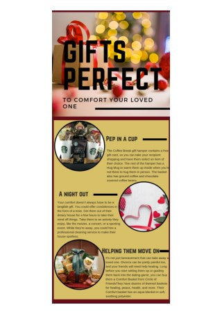 Gifts Perfect to Comfort Your Loved One