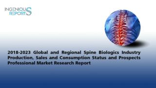 Global Spine Biologics Market Trends and Forecast to 2023