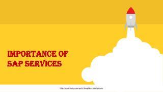 Importance of SAP Services