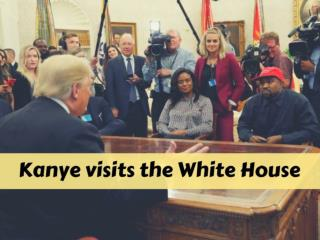 Kanye visits the White House