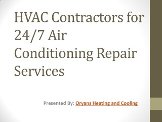Stay Up to Date with Your Air Conditioning and HVAC System