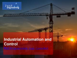 Industrial Automation and Control | course | just engineering