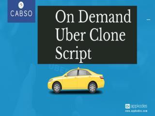 PPT - On Demand Uber Clone Script PowerPoint Presentation